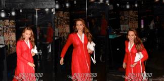 Lulia Vantur Caught Post Her Spa Session – Photos