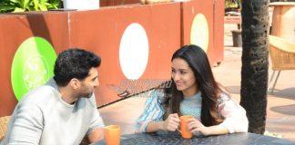 Shraddha Kapoor and Aditya Roy Kapur promote OK Jaanu over coffee