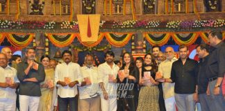 Nagarjuna graces Telugu movie Om Namo Venkatesaya audio launch event