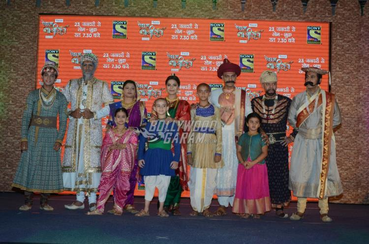 Entire cast of Peshwa Bajirao