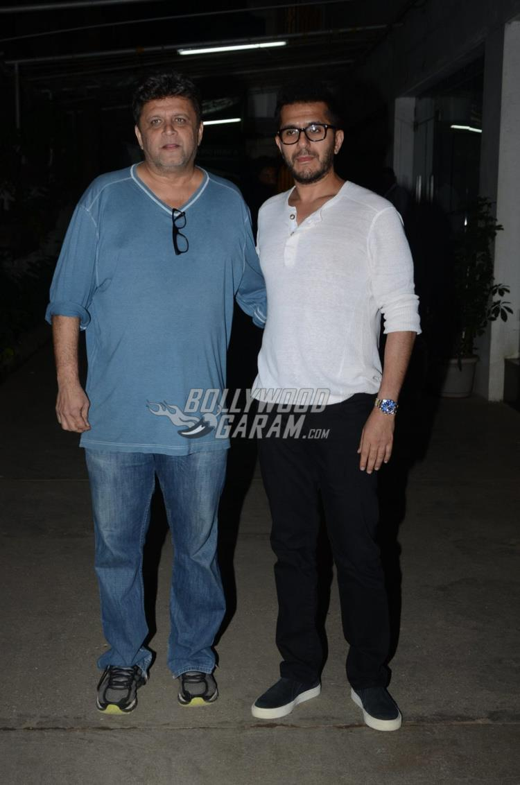 Riteish Sidhwani at first screening of Raees