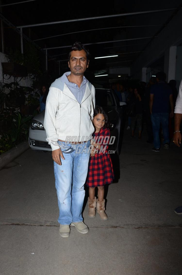 Nawazuddin Siddiqui at first screening of Raees
