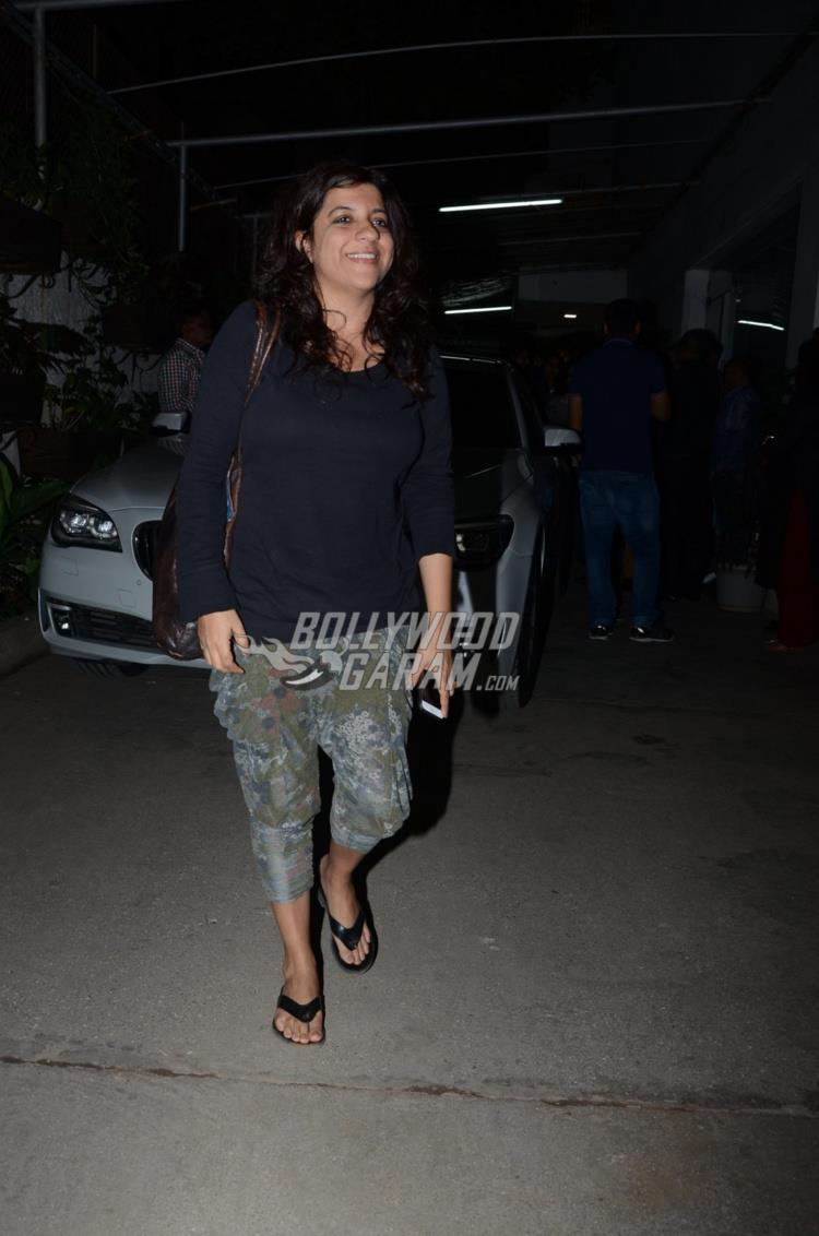 Zoya Akhtar at first screening of Raees