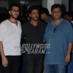 Shahrukh Khan and makers of Raees at first screening event