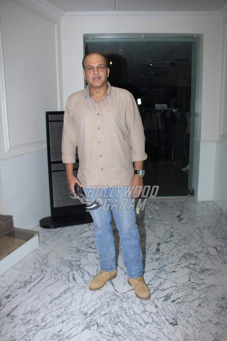 Ashutosh Gowarikar at Raees special screening