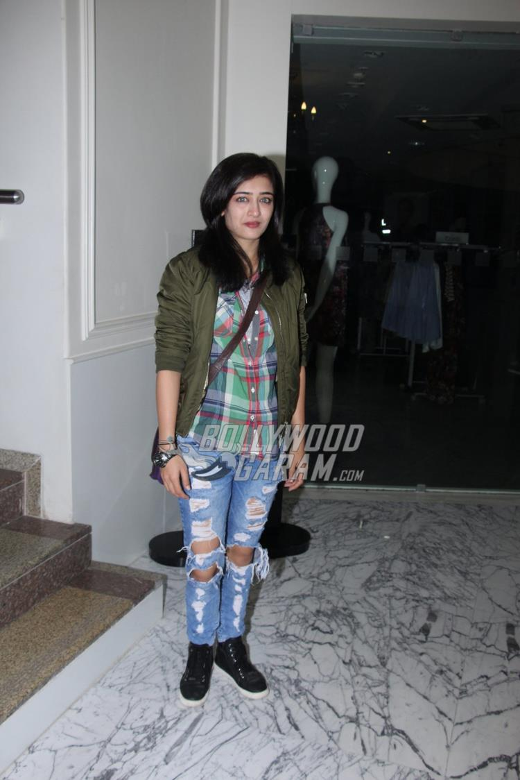 Akshara Haasan at Raees special screening