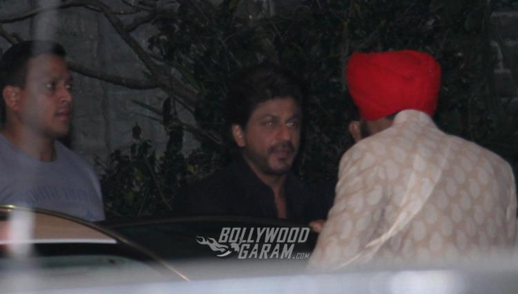 Shahrukh Khan at Rana Kapoor's daughter's wedding reception