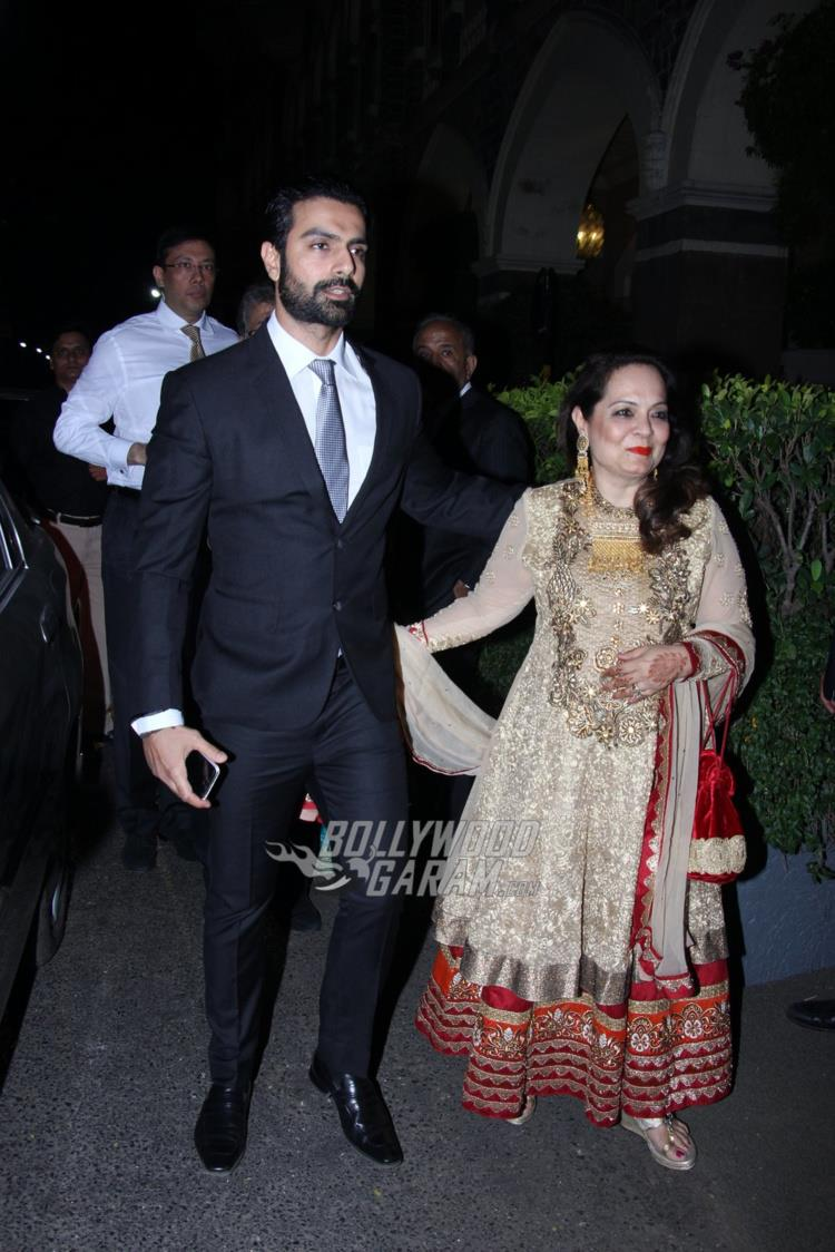 Ashmit Patel at Rana Kapoor's daughter's wedding reception