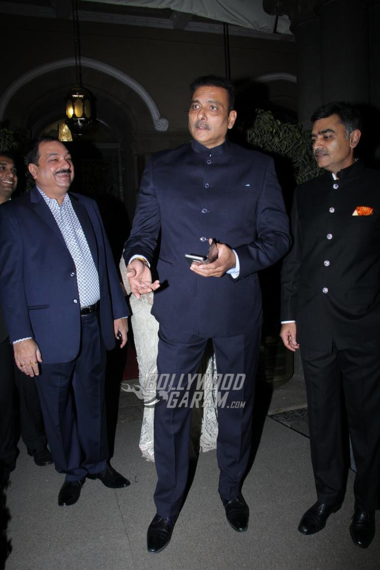 Ravi Shastri at Rana Kapoor's daughter's wedding reception