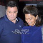 Rishi Kapoor and Neetu Kapoor watch Dangal