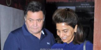Rishi Kapoor and Neetu Kapoor watch Dangal