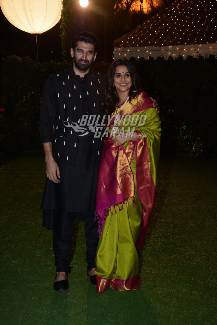 Kunal Roy Kapur and Vidya Balan at at Ronnie Screwvala's daughter's wedding reception
