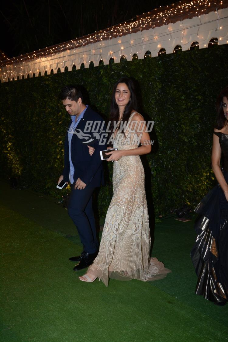 Katrina Kaif at at Ronnie Screwvala's daughter's wedding reception