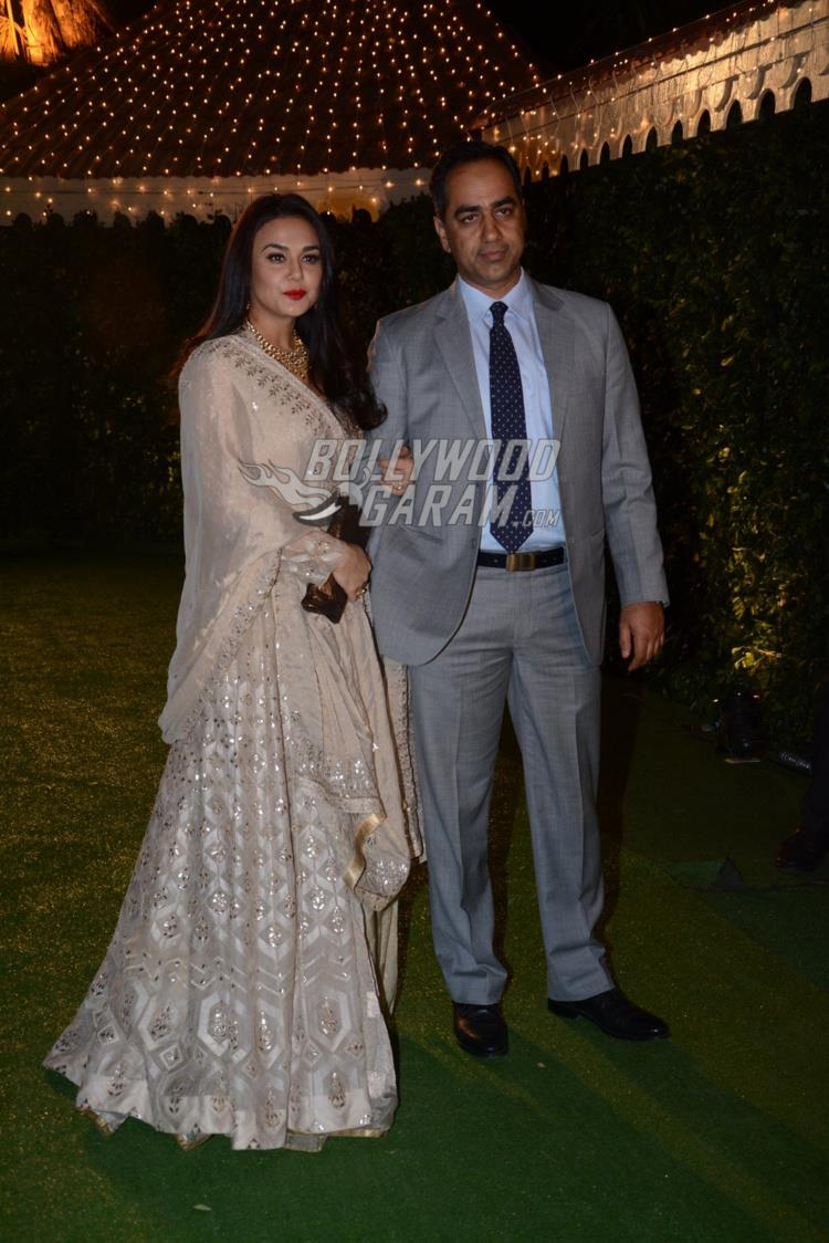 Preity Zinta at at Ronnie Screwvala's daughter's wedding reception