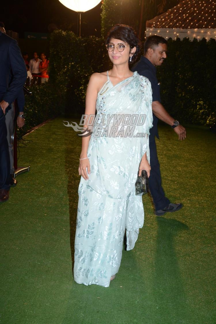 Kiran Rao at at Ronnie Screwvala's daughter's wedding reception