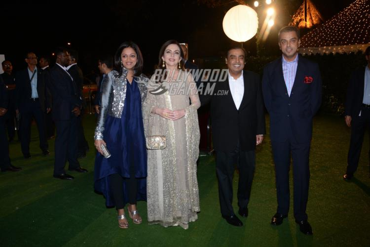 Nita and Mukesh Ambani at Ronnie Screwvala's daughter's reception