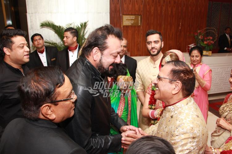 Sanjay manyata at wedding5