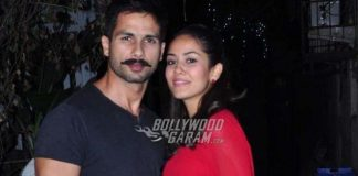 Candid Shahid Kapoor and Mira Rajput on Koffee With Karan