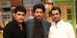 Shahrukh Khan and Nawazuddin Siddiqui have fun on sets of The Kapil Sharma Show