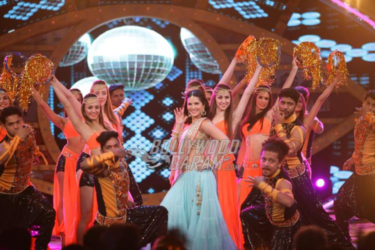 Sunny Leone performs on Bigg Boss