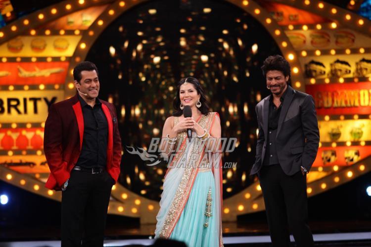 Sunny Leone promotes Raees on Bigg Boss