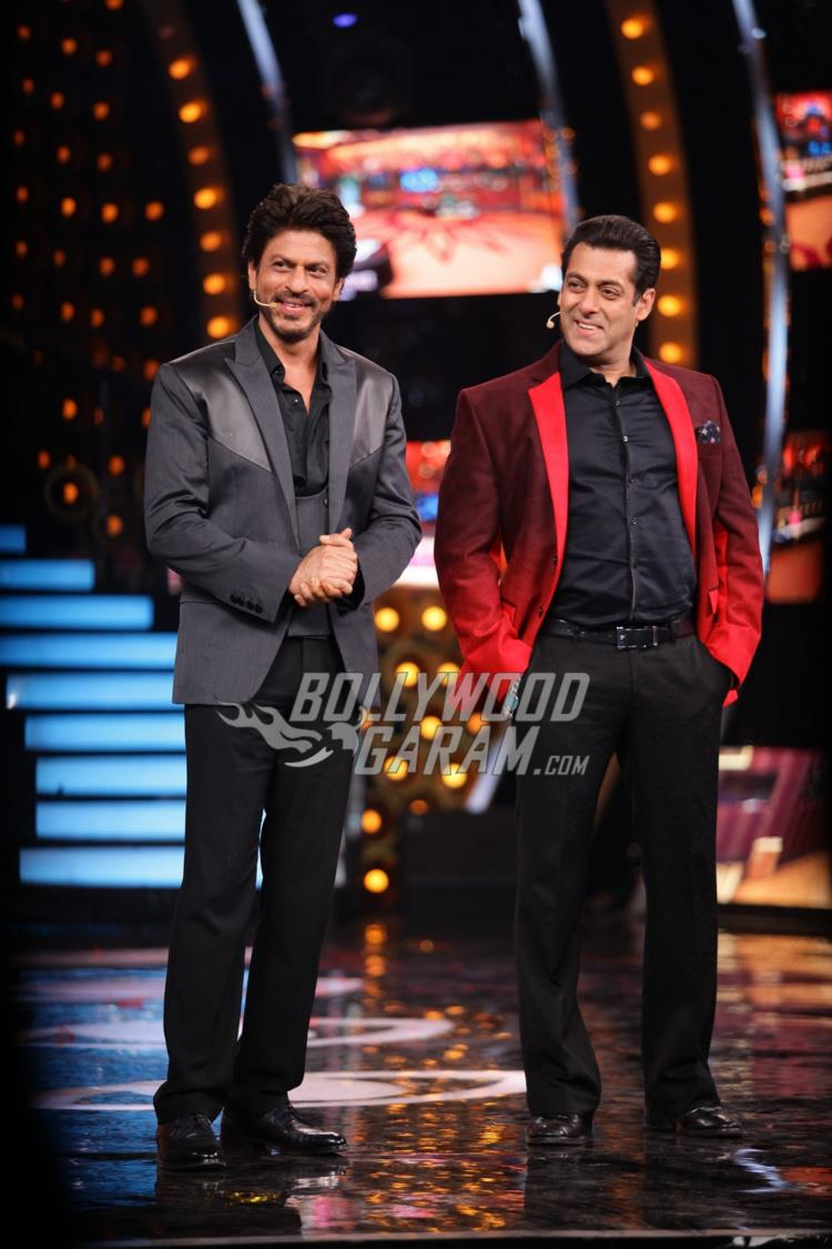 Shahrukh Khan and Salman Khan at Bigg Boss