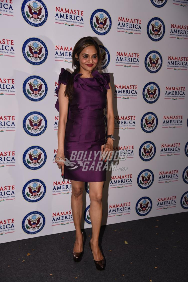 Madhoo Shah at Namaste America event