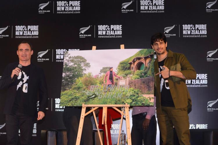 Sidharth Malhotra at Tourism New Zealand event