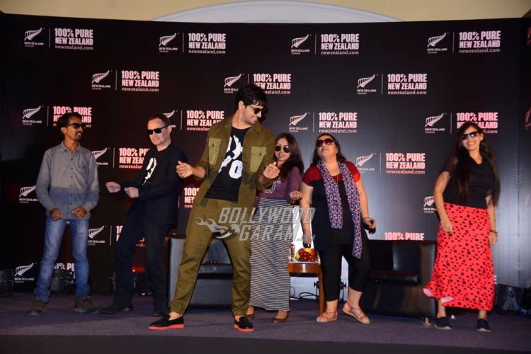 Sidharth Malhotra shakes a leg at Tourism New Zealand event