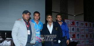Sohail Khan at Tony Premiere League launch event