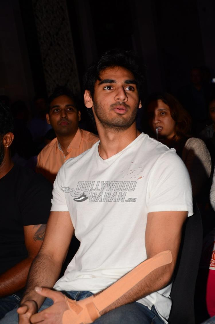 Ahan Shetty at Sony Liv Fitness event