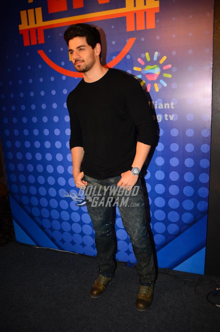 Sooraj Pancholi at Sony Liv Fitness event