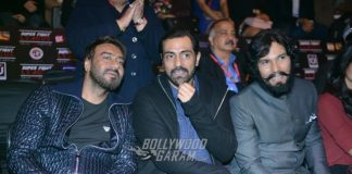 Ajay Devgn, Arjun Rampal and Randeep Hooda cheer for Super Fight League teams