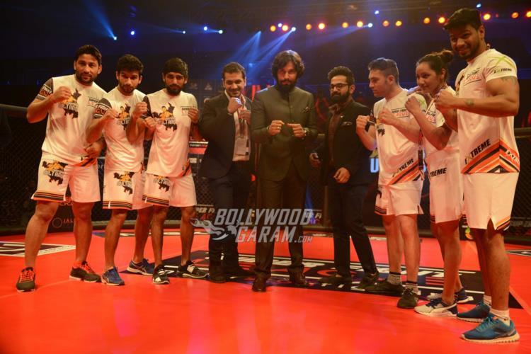 Randeep Hooda with his team