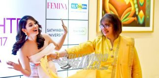 Tamannah Bhatia with mother Rajani Bhatia at Femina Mother-Daughter Awards 2017