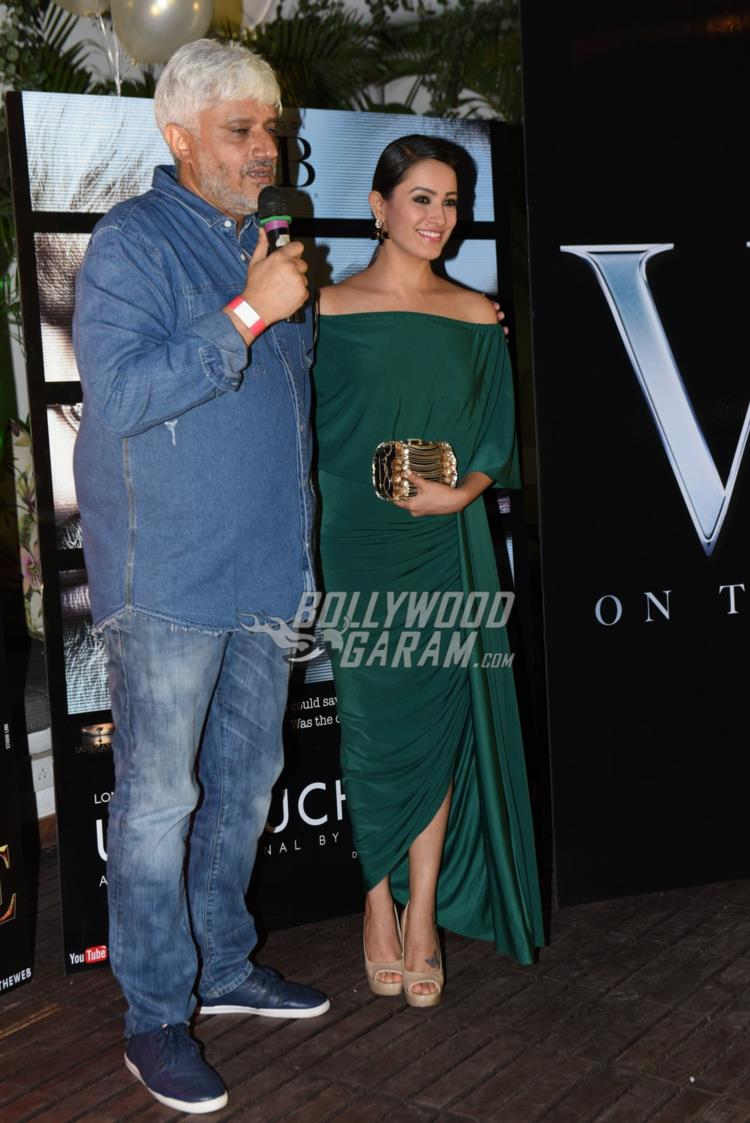 Vikram Bhatt and ANita Hassanandani at VB web channel launch
