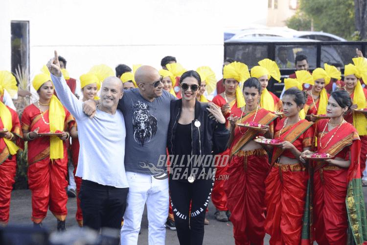 Vin Diesel Lands in India with Deepika Padukone ...