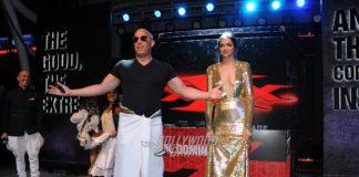 Deepika Padukone, Vin Diesel and Ranveer Singh at xXx premiere