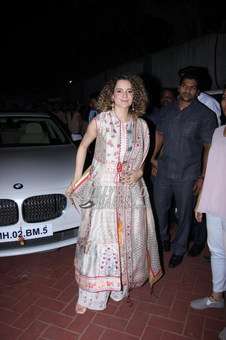 Kangana Ranaut at International Customs event