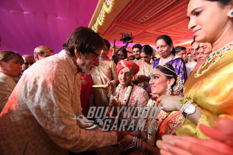 Amitabh Bachchan wishes the newly-weds