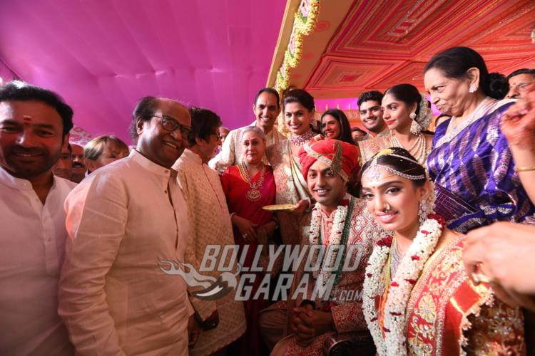 Rajinikanth wishes the newly-weds