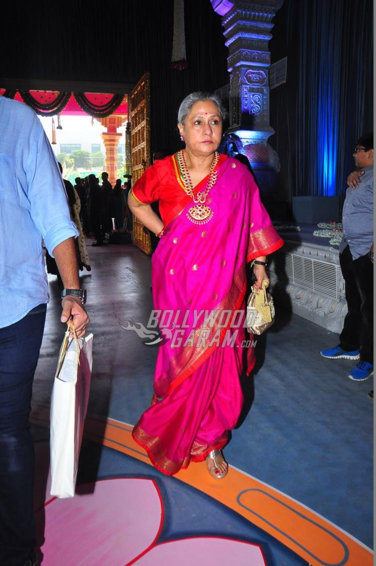 Jaya Bachchan at Keshav Reddy and Veena Tera's wedding ceremony