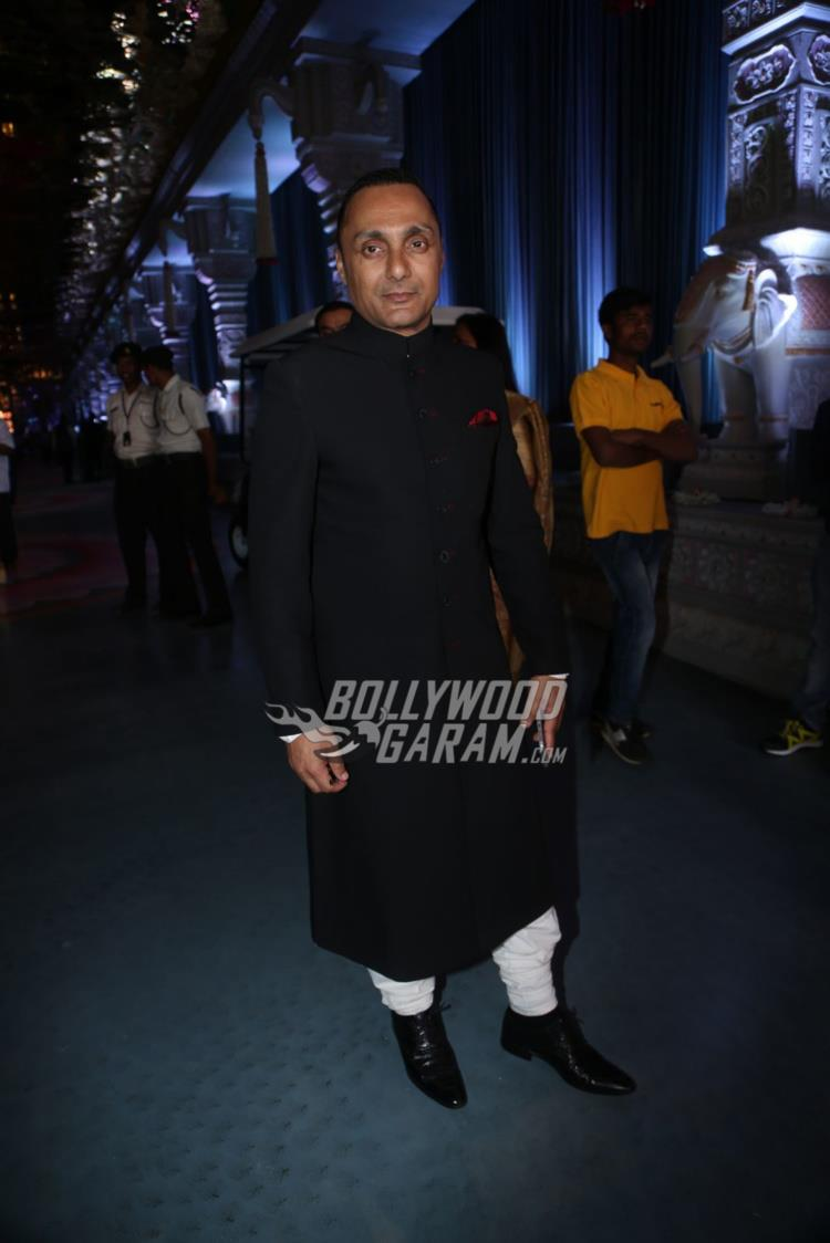 Rahul Bose at Keshav Reddy and Veena Tera's wedding ceremony