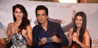 Disha Patani, Sonu Sood and Amyra Dastur promote Kung Fu Yoga