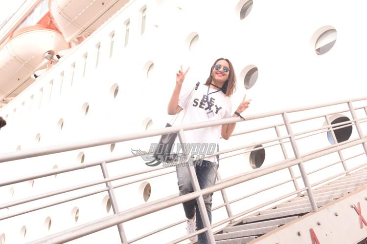 Sonakshi Sinha on the cruise
