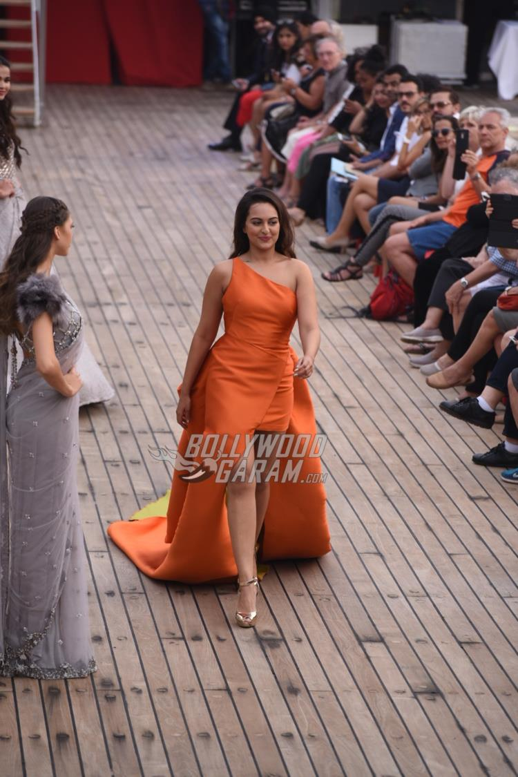 Sonakshi Sinha on the ramp