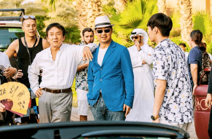 2. Jackie Chan, Lay Zhang and Zhang Guoli