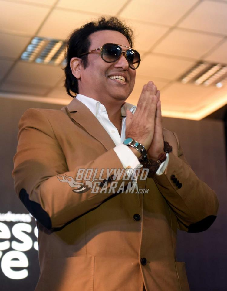 Govinda at Aa Gaya Hero promotions in Delhi