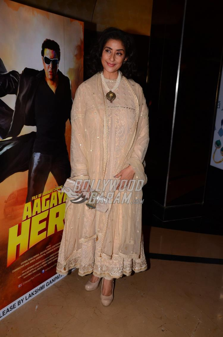 Manisha Koirala at trailer launch of Aa Gaya Hero