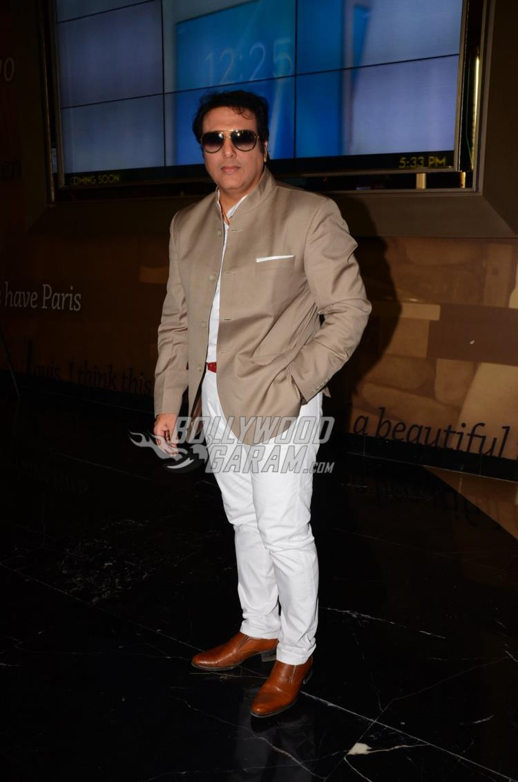 Govinda at trailer launch of Aa Gaya Hero